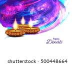 abstract elegant watercolor... | Shutterstock .eps vector #500448664