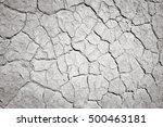 Mojave Desert Background. Blac...