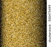 glitter golden gradient with... | Shutterstock .eps vector #500475499