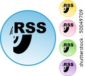 rss | Shutterstock .eps vector #50049709