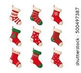 Set Of Cute Christmas Socks...