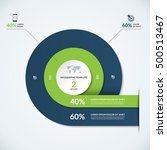 circle infographic template.... | Shutterstock .eps vector #500513467