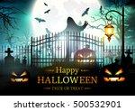 halloween. | Shutterstock .eps vector #500532901