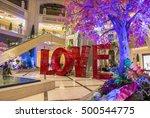 las vegas   oct 05   the love... | Shutterstock . vector #500544775