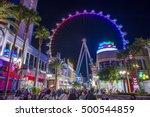 las vegas   oct 05   the linq ...   Shutterstock . vector #500544859