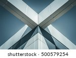 abstract image of building... | Shutterstock . vector #500579254