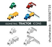 vector illustration. set of... | Shutterstock .eps vector #500587735