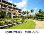 modern building with grass | Shutterstock . vector #50060071