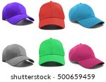group of the colorful fashion... | Shutterstock . vector #500659459