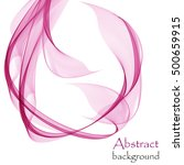abstract background with pink... | Shutterstock .eps vector #500659915