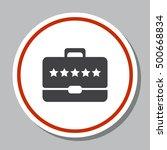 briefcase icon vector