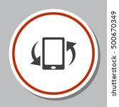 smartphone icon vector