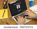 collaboration concept   Shutterstock . vector #500724721