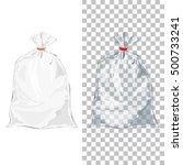 set of transparent wrap bags... | Shutterstock .eps vector #500733241