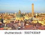 panoramic view of bologna in...   Shutterstock . vector #500743069