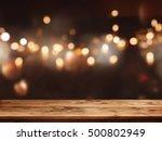 Festive Background Light Spots Bokeh - Fine Art prints
