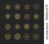 Vector Set Of 16 Elements. Lin...