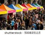 london  uk. 15th october 2016.... | Shutterstock . vector #500835115