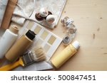 interior design  renovation ... | Shutterstock . vector #500847451