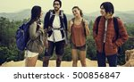 people friendship hangout... | Shutterstock . vector #500856847