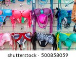 department of swim suits in... | Shutterstock . vector #500858059