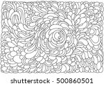 background with abstract waves. ... | Shutterstock .eps vector #500860501
