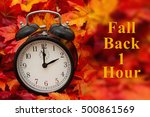 it is time for autumn  some...   Shutterstock . vector #500861569