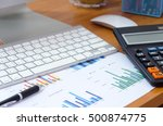 business finance  accounting ... | Shutterstock . vector #500874775
