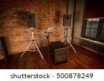 music speakers remote | Shutterstock . vector #500878249
