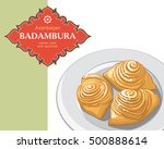 badambura   this is a national... | Shutterstock .eps vector #500888614
