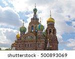 russia  st. petersburg  church...
