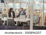 doing business inside the... | Shutterstock . vector #500896207