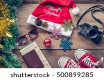 planning for travel with... | Shutterstock . vector #500899285