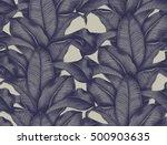 hand painted watercolor... | Shutterstock . vector #500903635