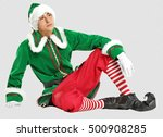 Photo Of Christmas Elf With...
