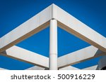 abstract building structure....   Shutterstock . vector #500916229