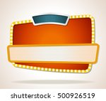 vector banners backgrounds.... | Shutterstock .eps vector #500926519