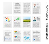 set of typical office documents.... | Shutterstock .eps vector #500930647