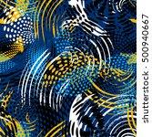 abstract seamless urban... | Shutterstock .eps vector #500940667