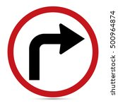 Traffic Sign  Turn Right Ahead...