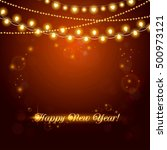 new year abstract background... | Shutterstock .eps vector #500973121