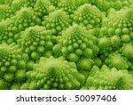 Green Background  Broccoli