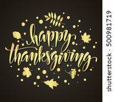 Thanksgiving Greeting Card Wit...