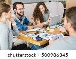 talk of designers | Shutterstock . vector #500986345