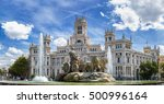 cibeles fountain at plaza de... | Shutterstock . vector #500996164