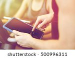 sport  fitness  lifestyle ... | Shutterstock . vector #500996311