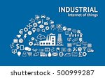 industrial 4.0 cyber physical... | Shutterstock . vector #500999287
