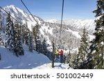 stevens pass  washington usa  ... | Shutterstock . vector #501002449