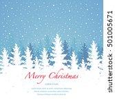 vector background  merry... | Shutterstock .eps vector #501005671
