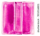 purple lined handmade glazed... | Shutterstock . vector #501016801